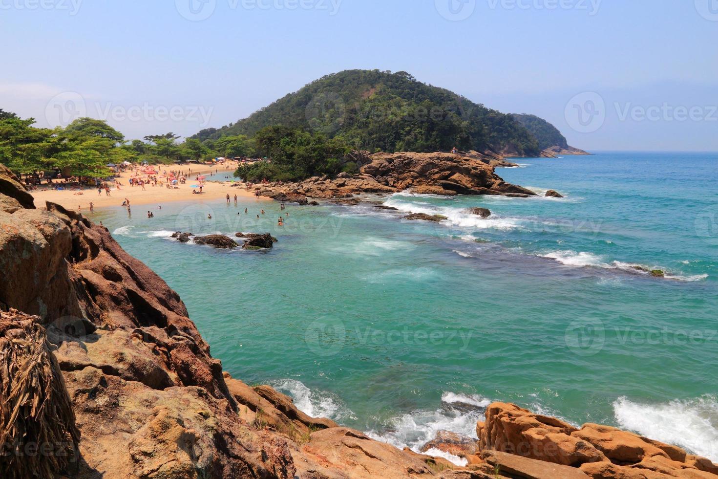 playa en brasil foto