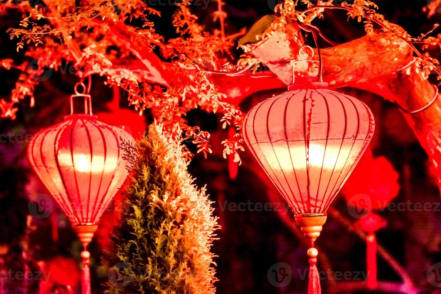 decoración de año nuevo chino foto