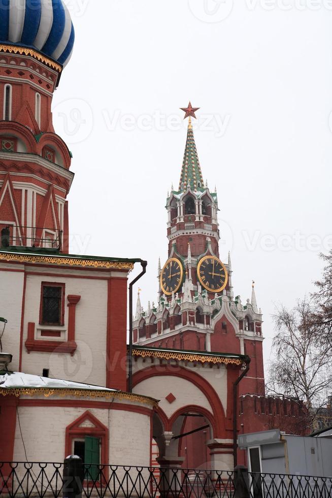 kremlin de moscú foto