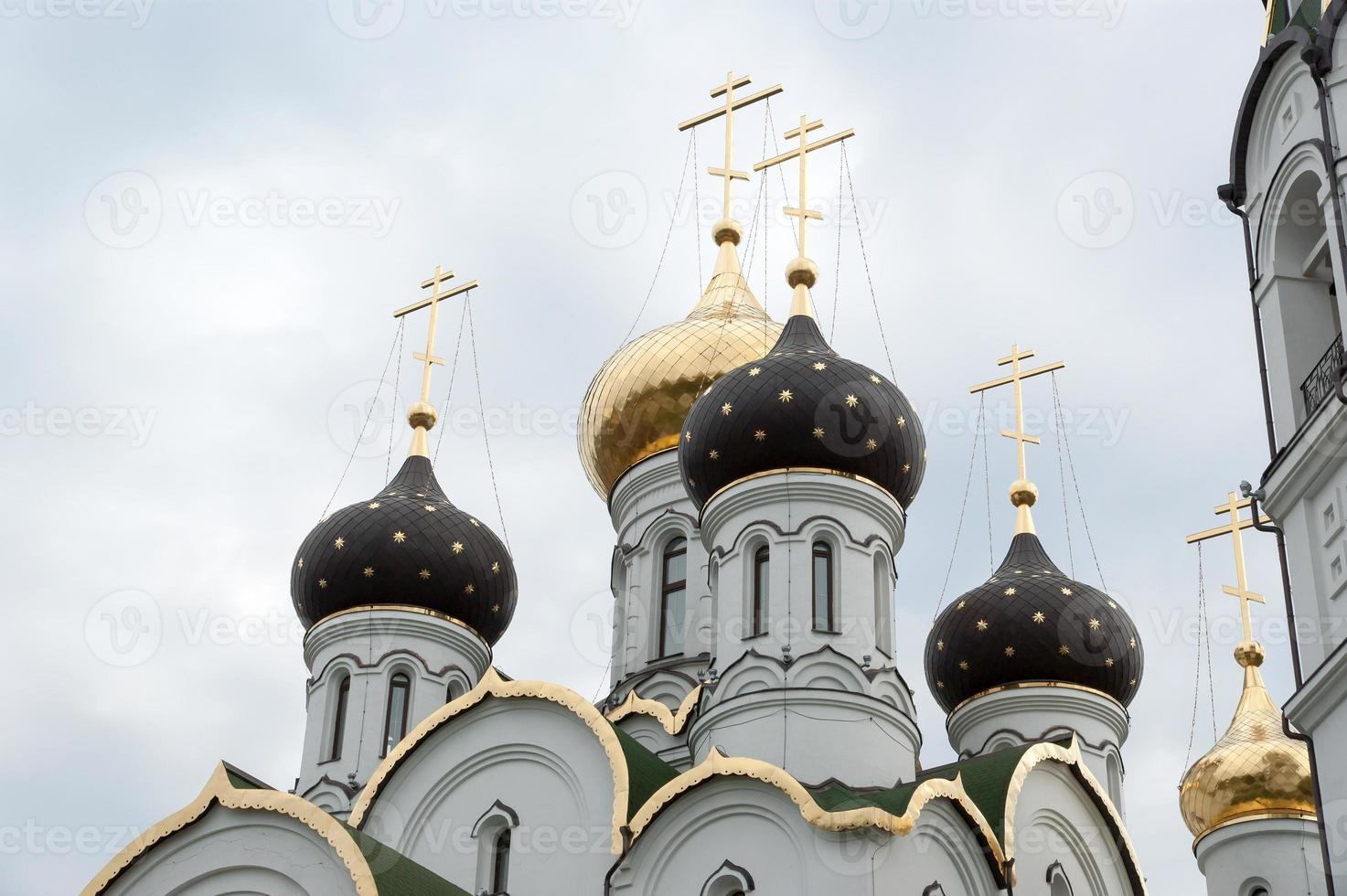 iglesia de st. Alexander Nevsky, región de Moscú foto