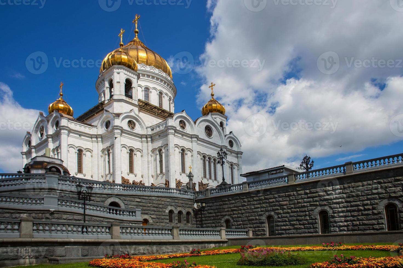 Catedral de Cristo Salvador, Moscú, Rusia foto