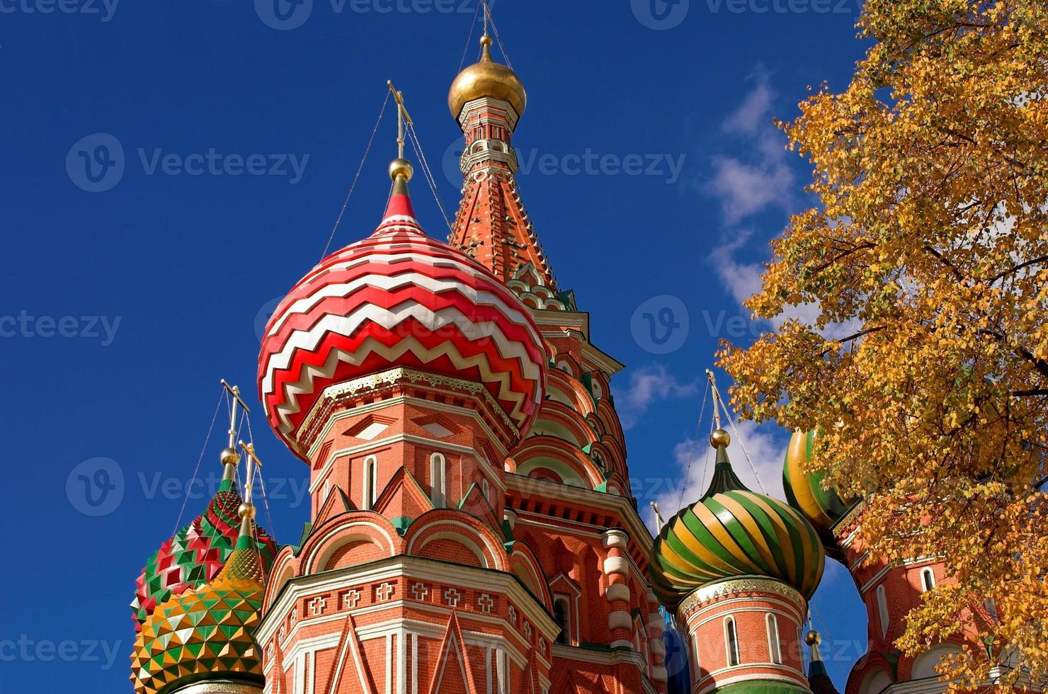 Head of St. Basil's Cathedral photo