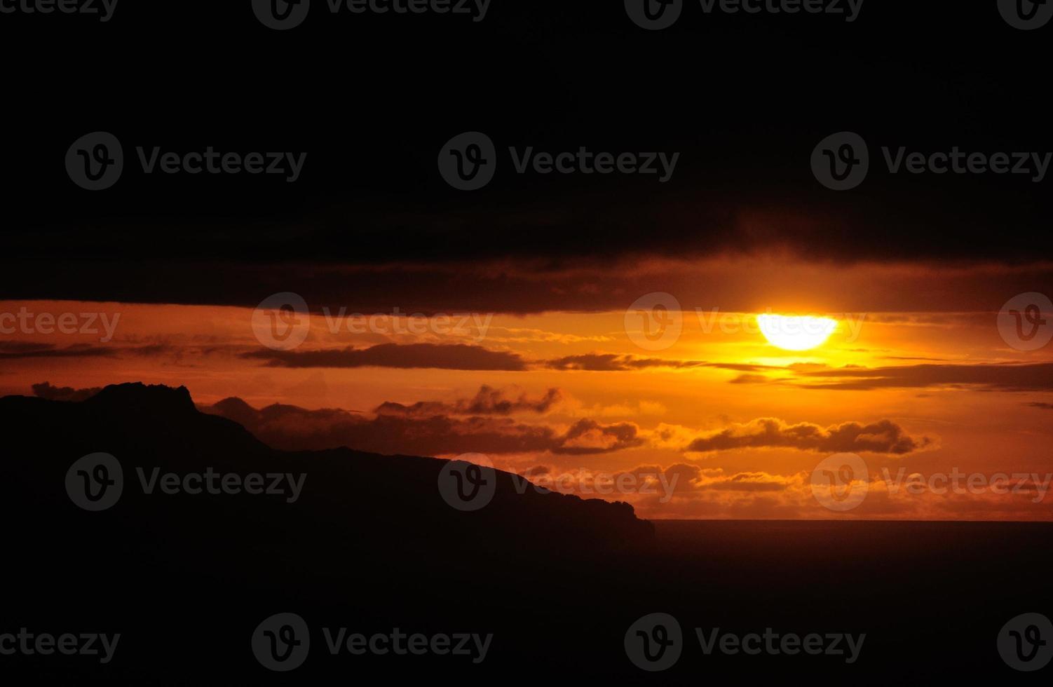 Cabo Verde Sunset photo