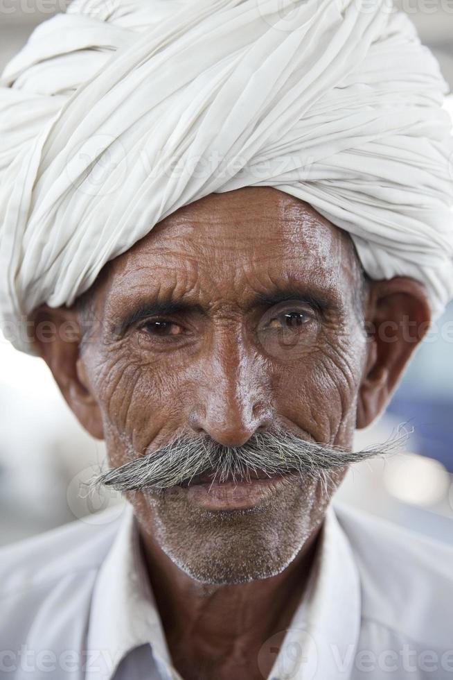 Rajasthani Indiase man foto