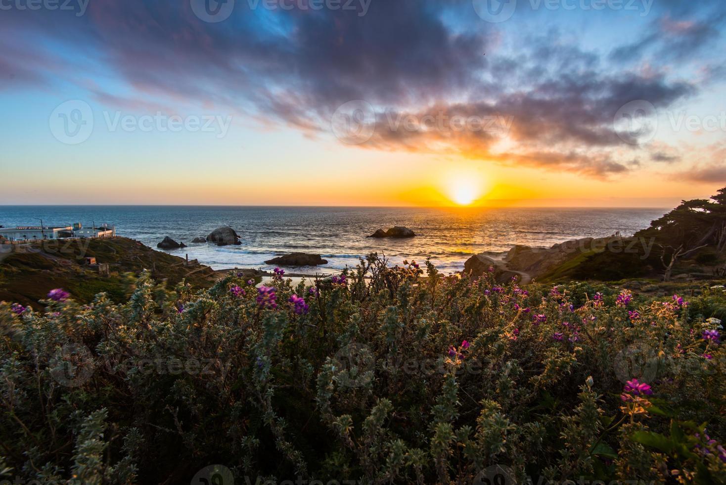 Ocean Beach Sunset photo