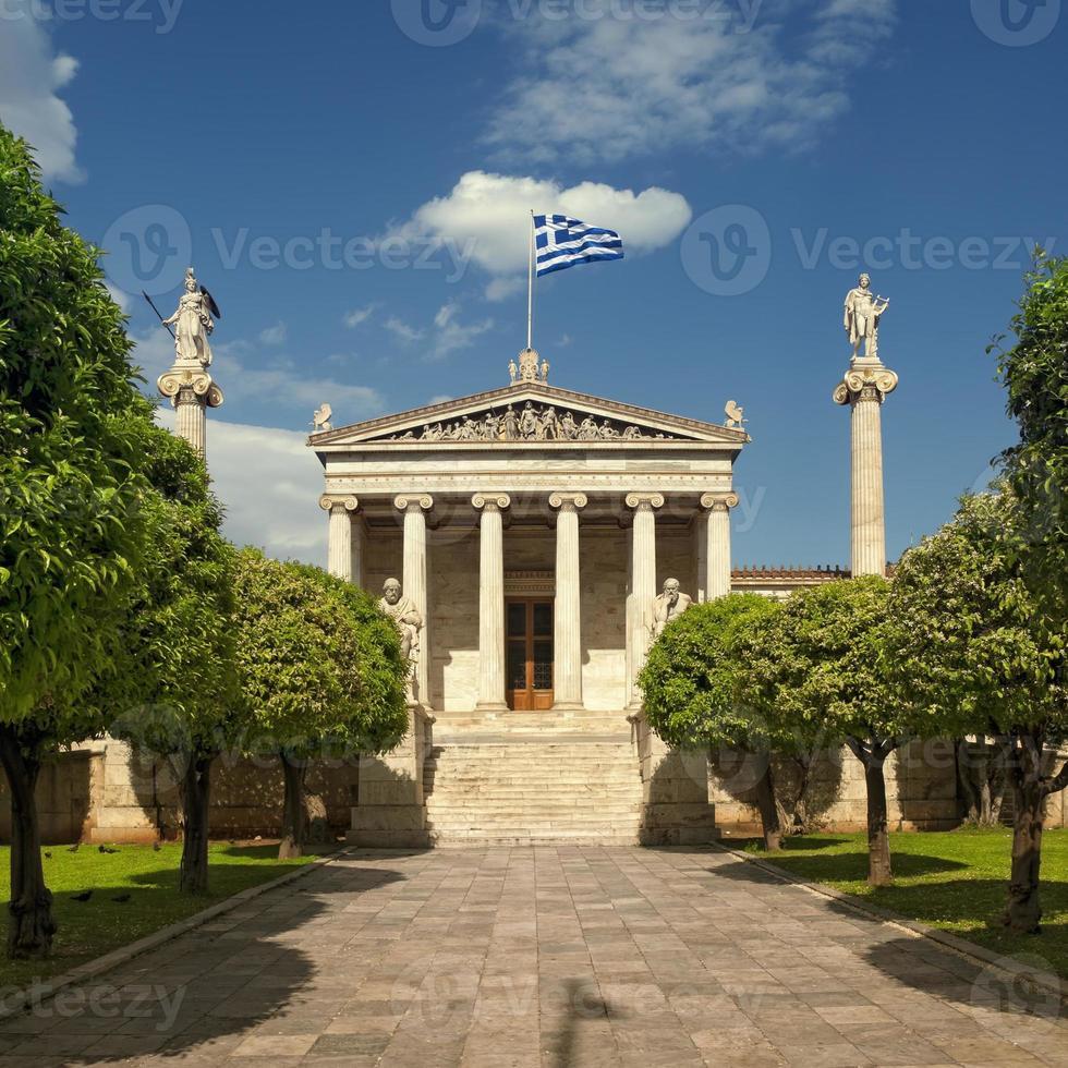 academia de atenas, grecia foto