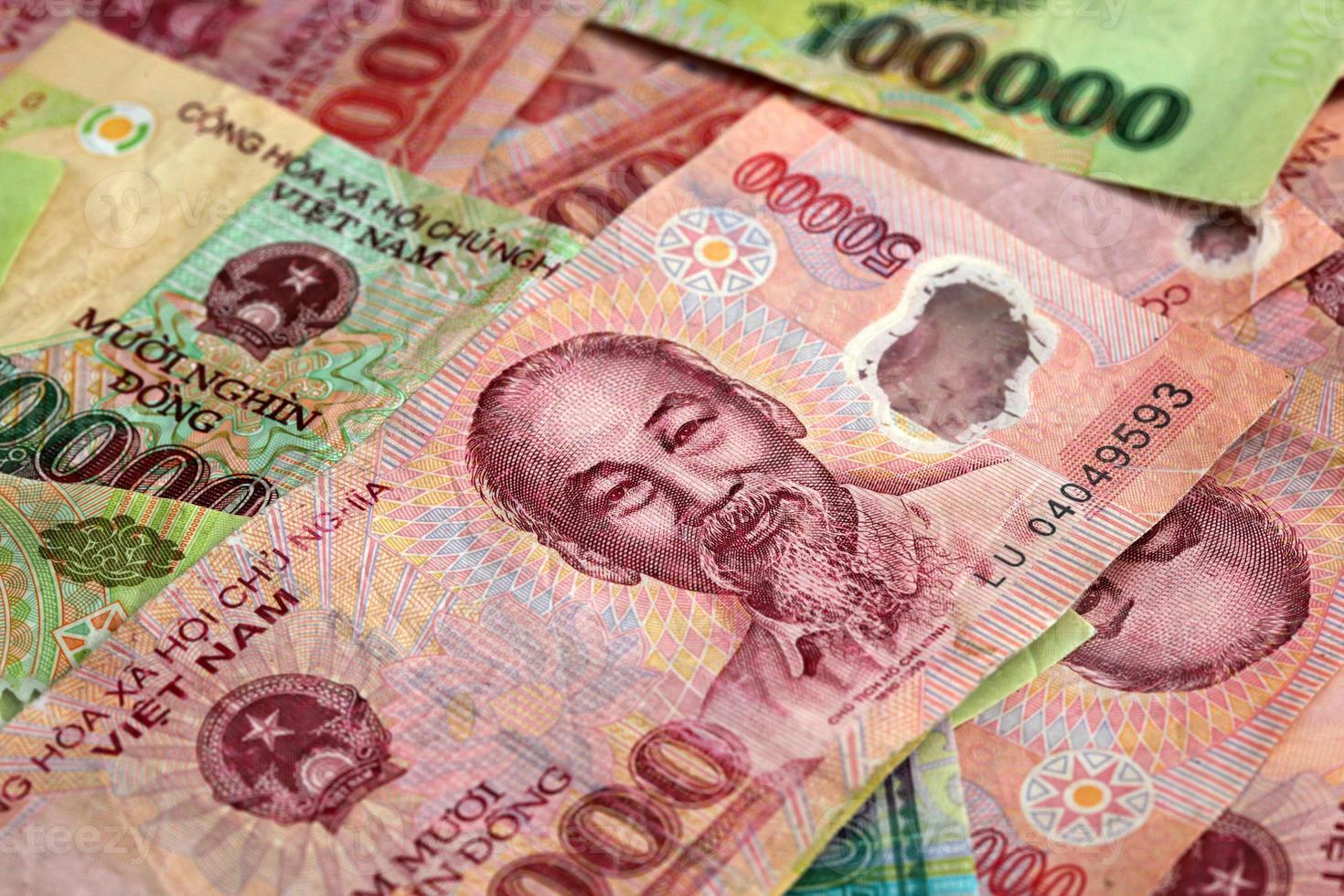 dinero de vietnam foto