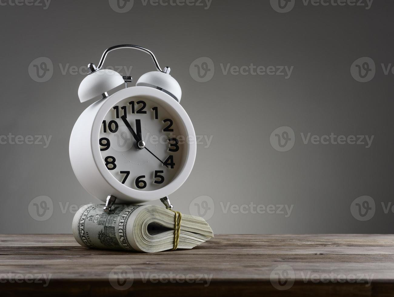 Time  money business concept photo