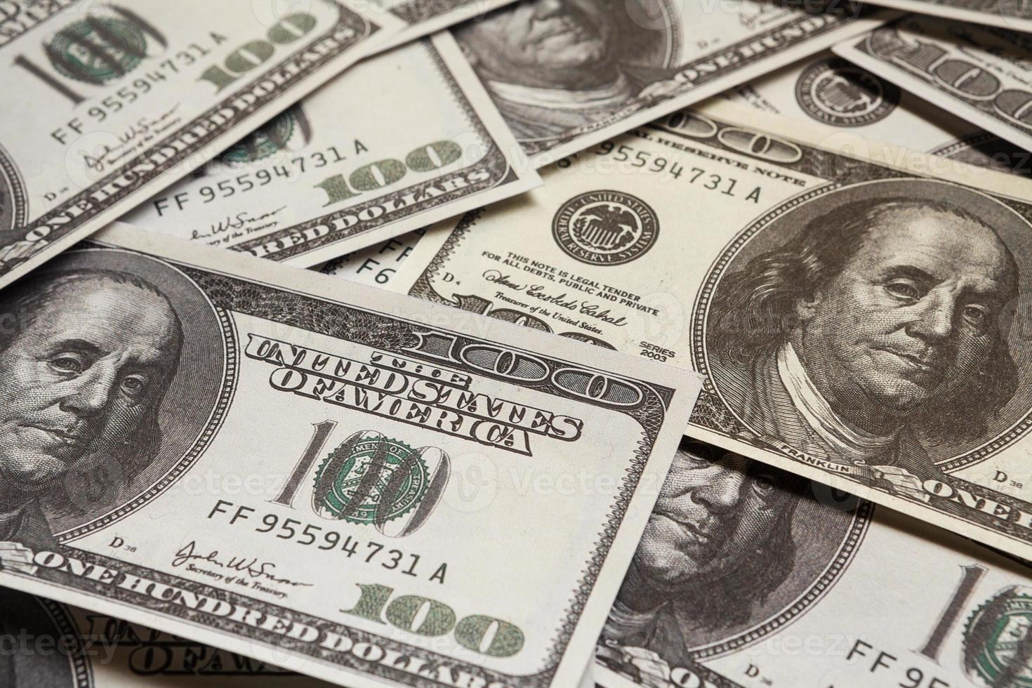 One hundred dollars, money photo