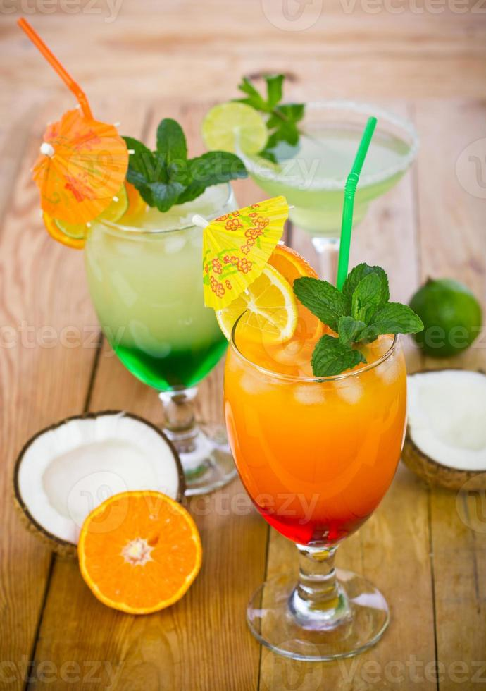 bebidas tropicales foto