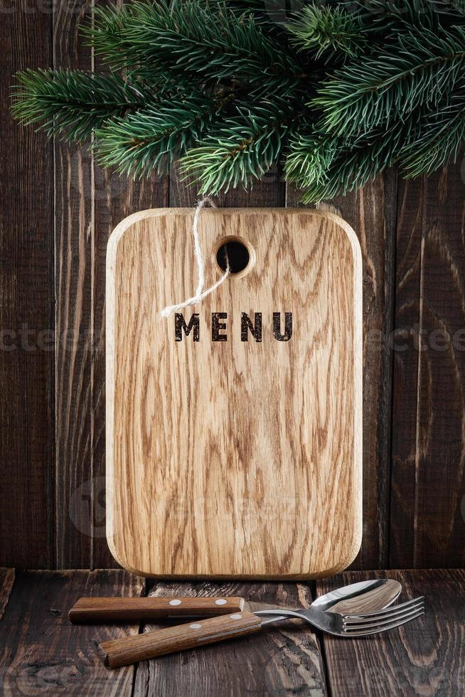 menu board photo