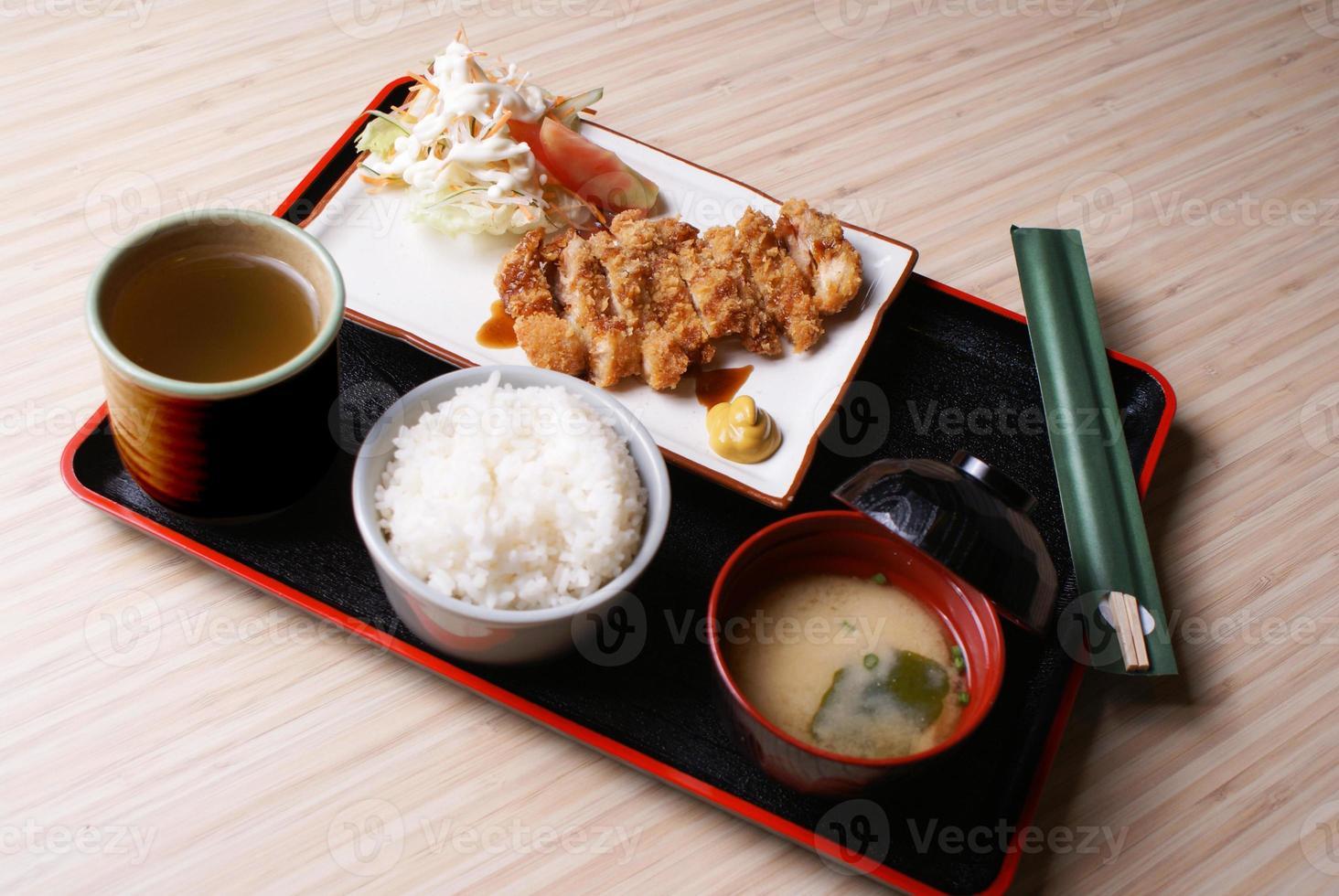 Chicken Katsu Set Menu photo