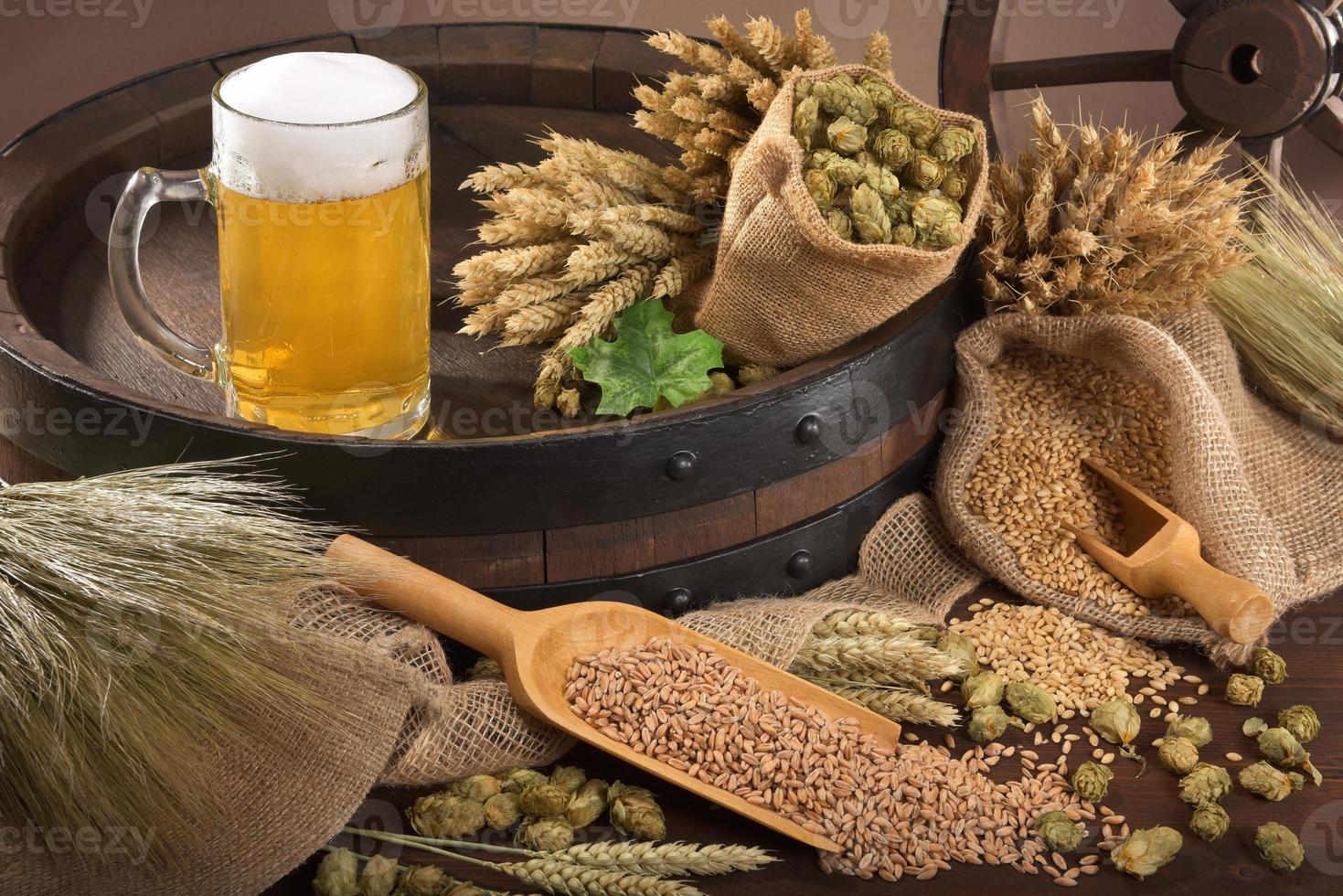 ingredientes de cerveza foto