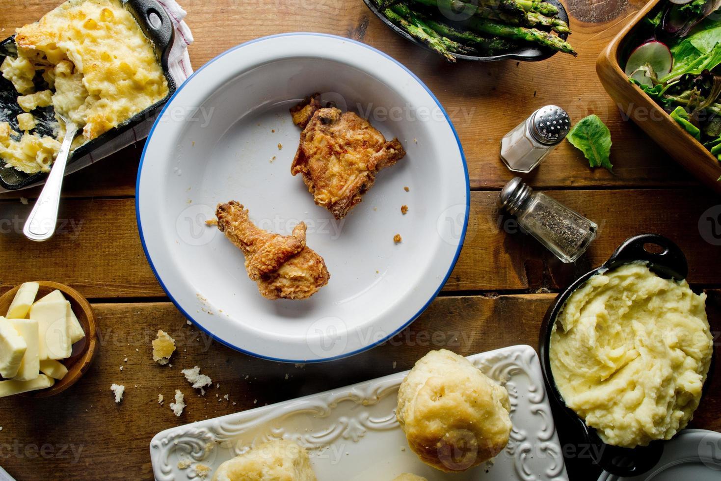 Fried Chicken Sunday Supper photo