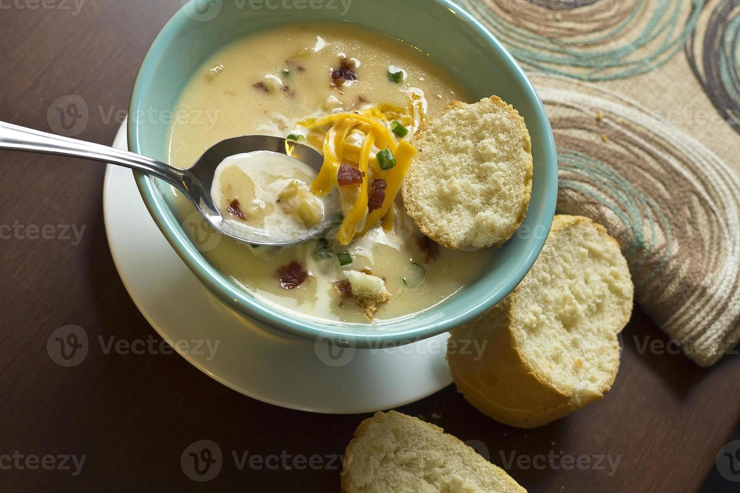 Loaded Baked Potato Soup photo
