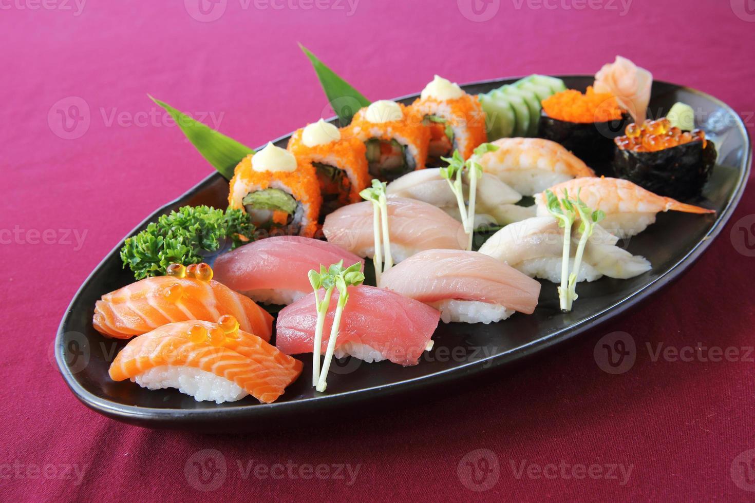 set de sushi foto