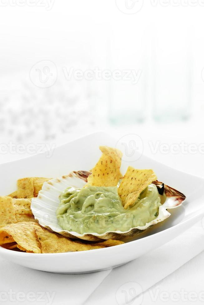 Guacamole and Chips photo