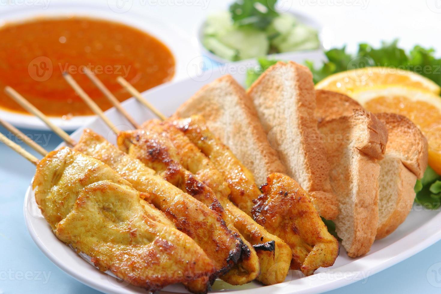 pollo Satay foto