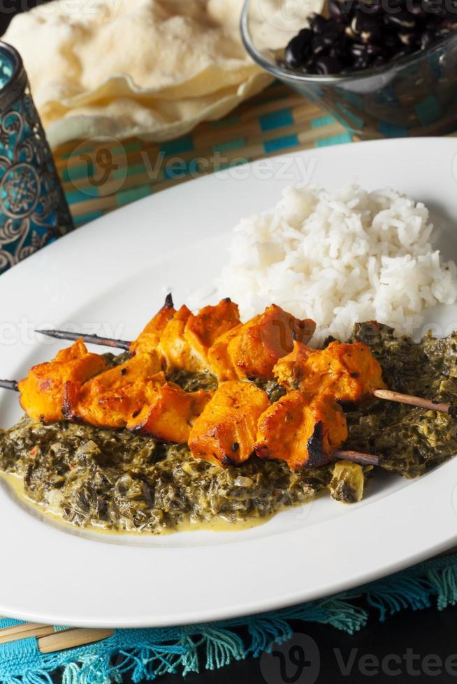 indian chicken photo