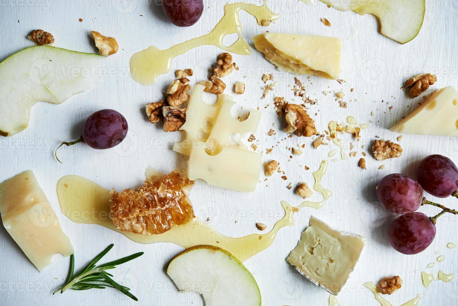 board with cheese photo