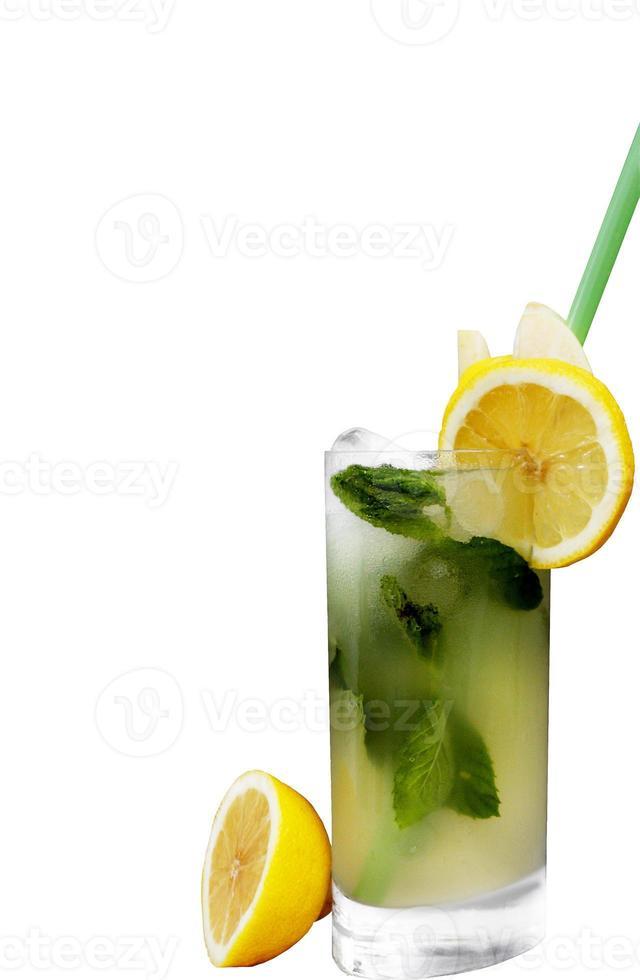 vaso de limonada fresca foto