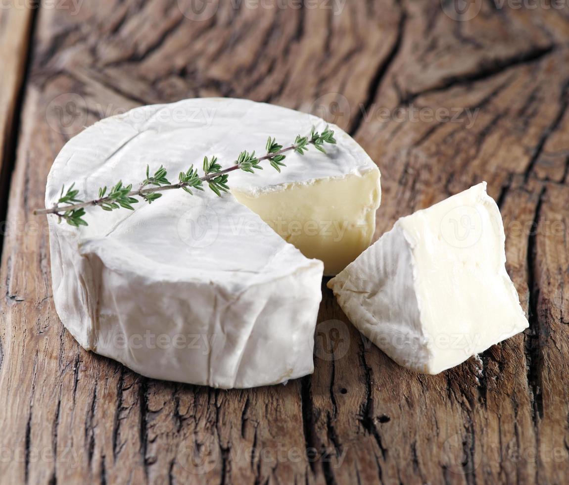 Camembert cheese. photo
