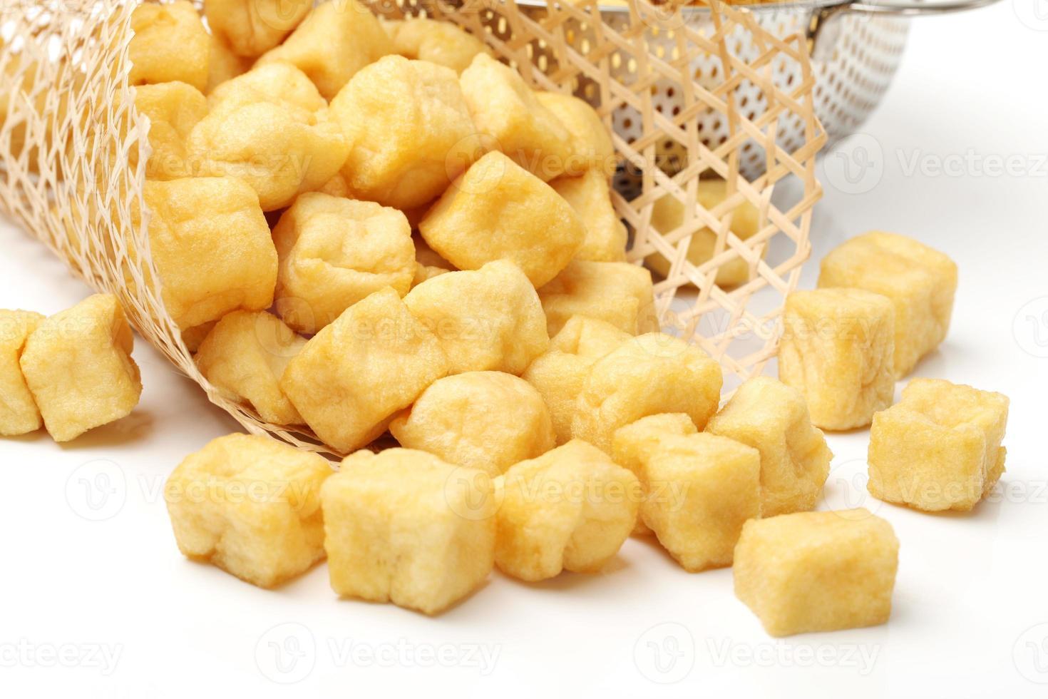 burbuja de tofu foto