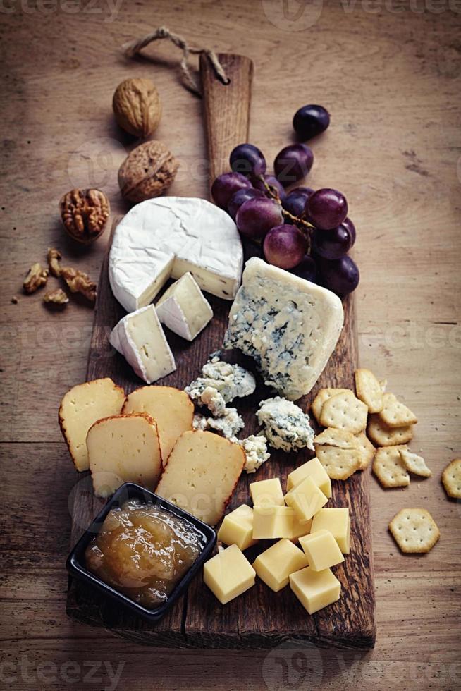 plato de queso foto