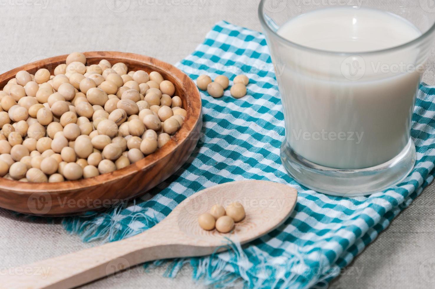 leche de soja foto