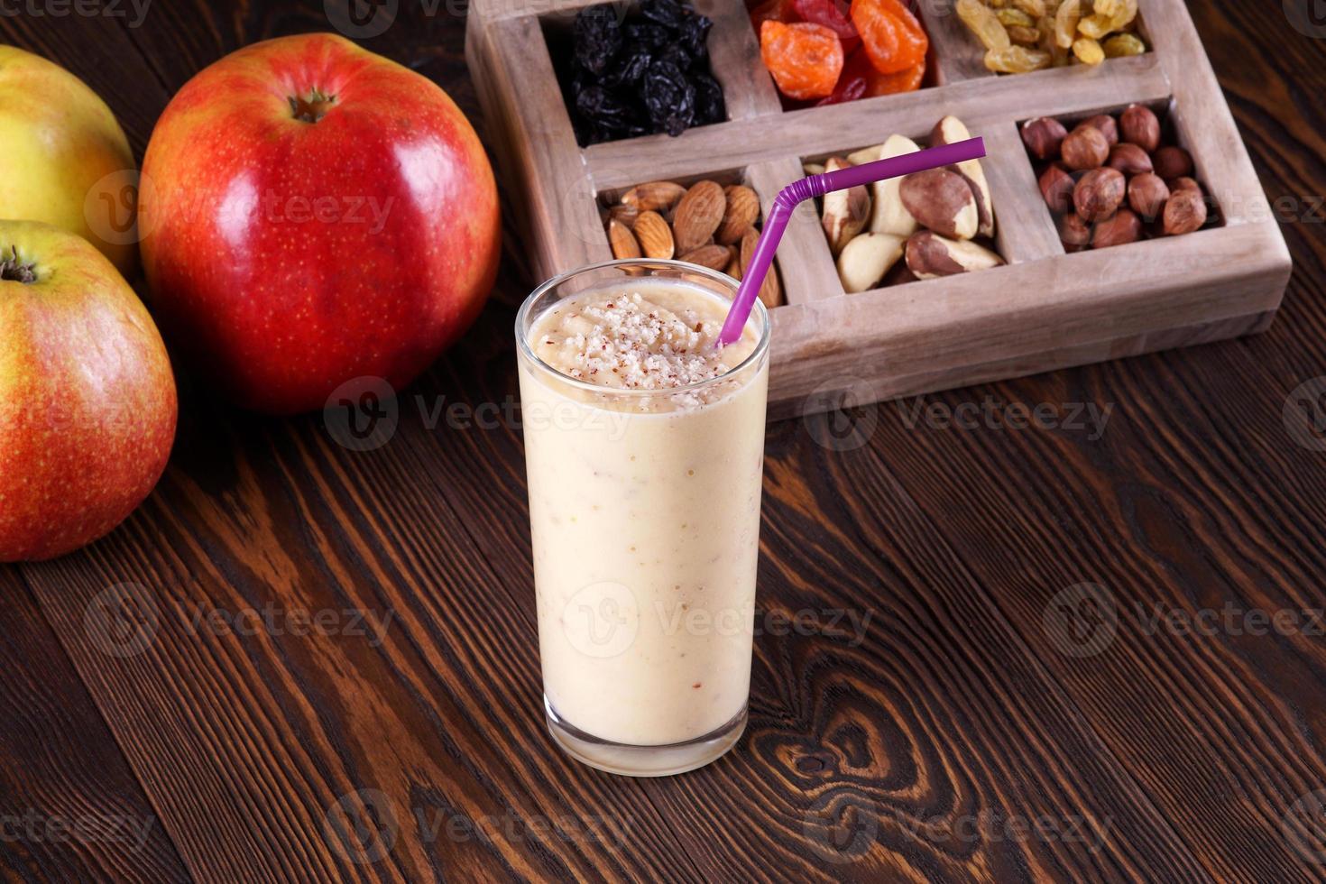 Apple smoothie photo