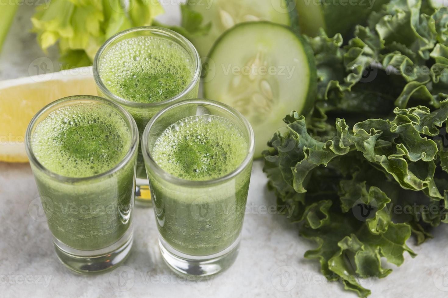 Kale Juice Shots photo