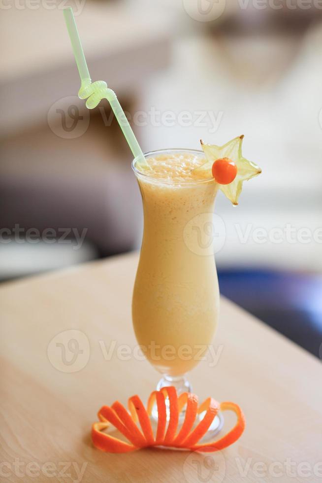 Milk cocktail photo