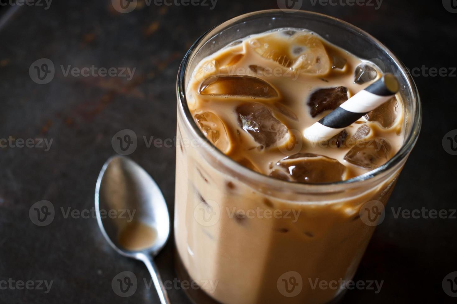 Cold coffee photo