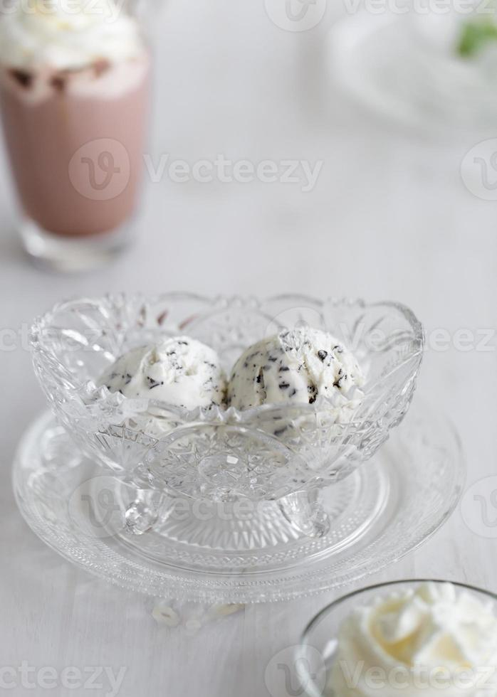 stracciatella icecream photo