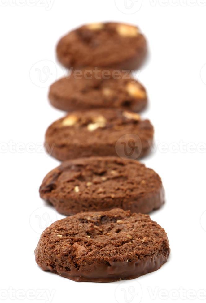 galletas de chocolate triples foto