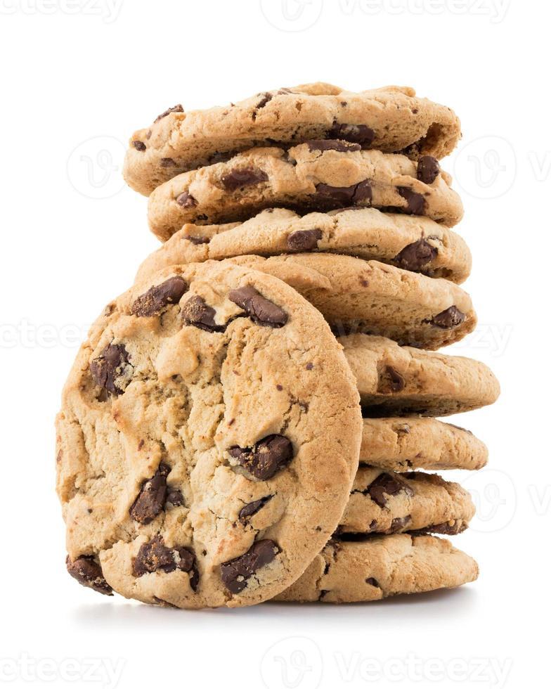 galletas con chispas de chocolate foto