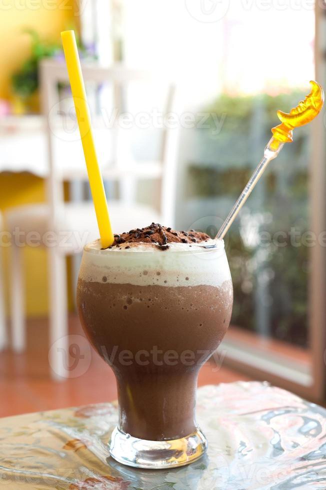Cocoa smoothie photo