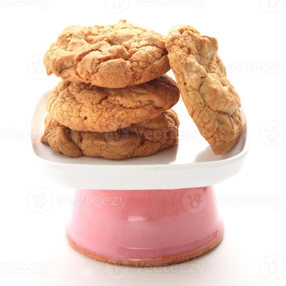 galletas con chip de chocolate foto