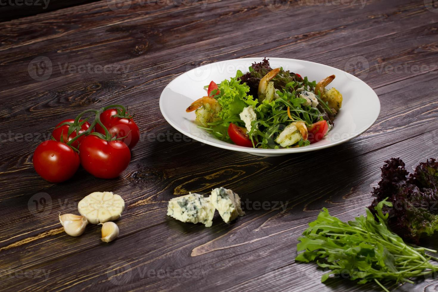 Dietary salad. photo