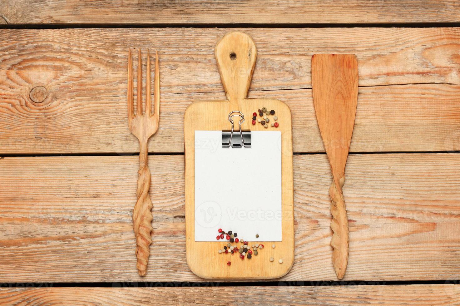 Kitchen cooking utensils photo