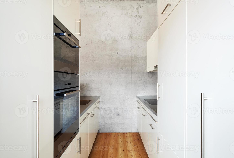 cocina blanca foto
