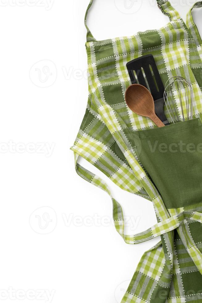 delantal de cocina foto