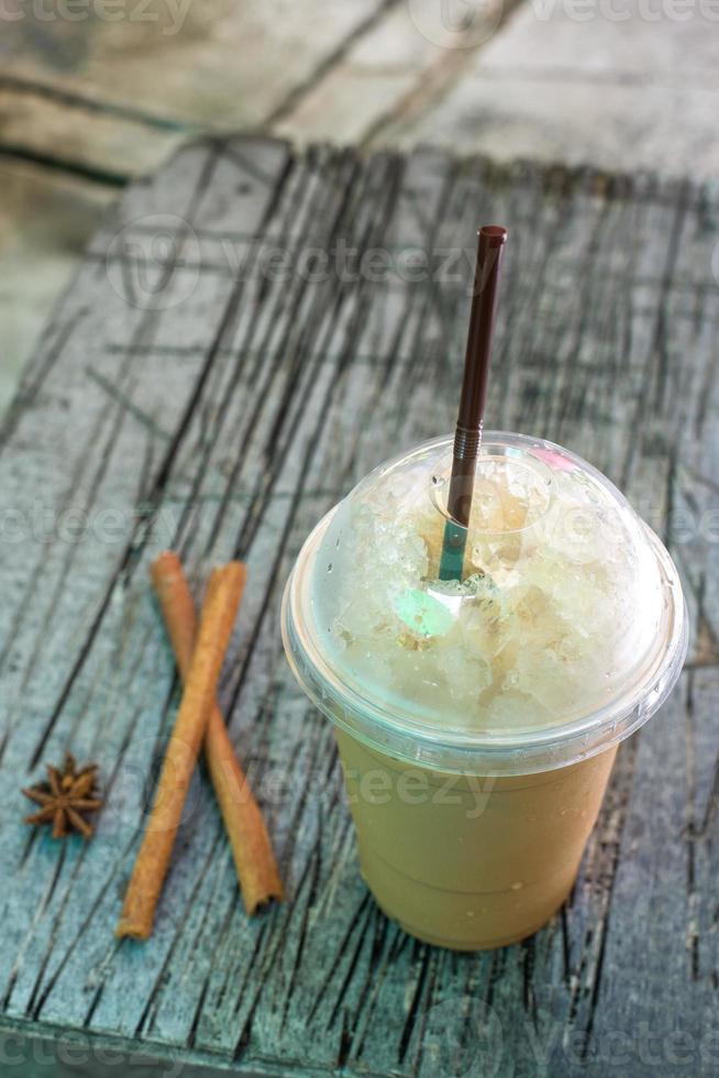 café helado foto