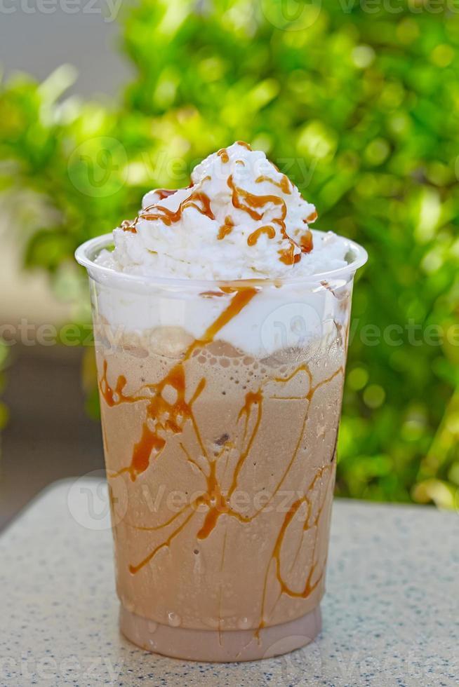 Iced coffee photo