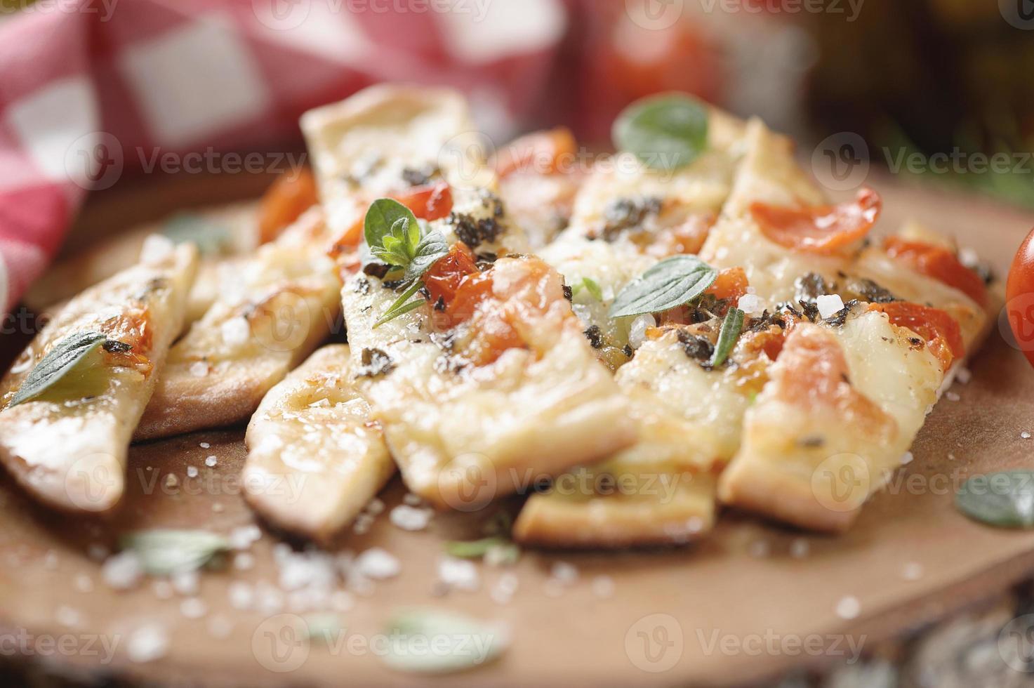 pizza de sal marina foto