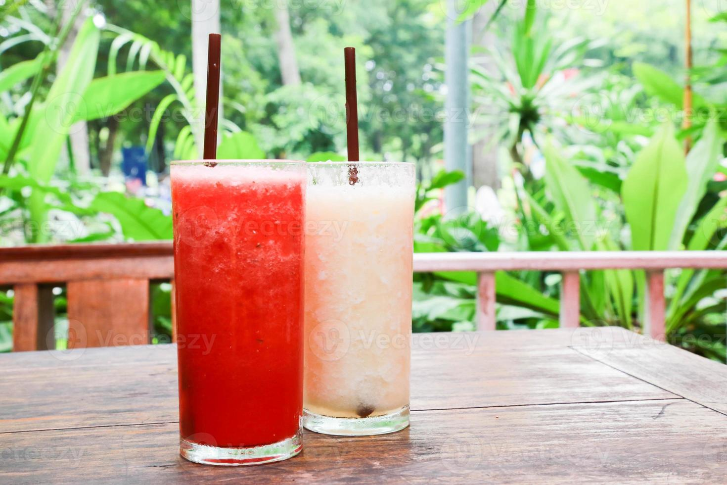 smoothie aux fruits photo