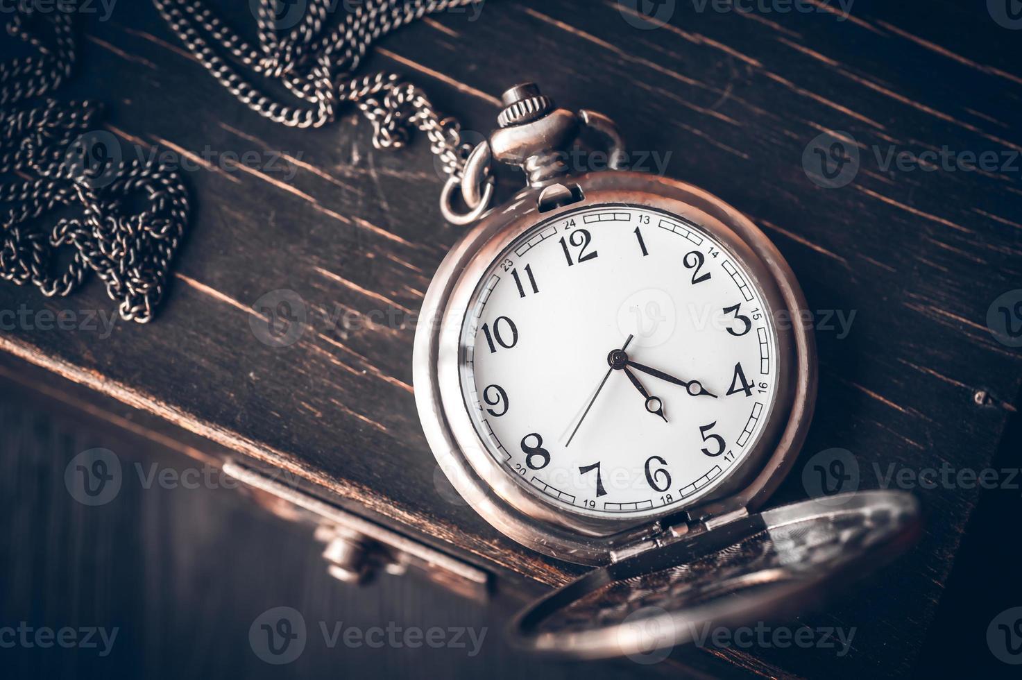 reloj de bolsillo vintage foto