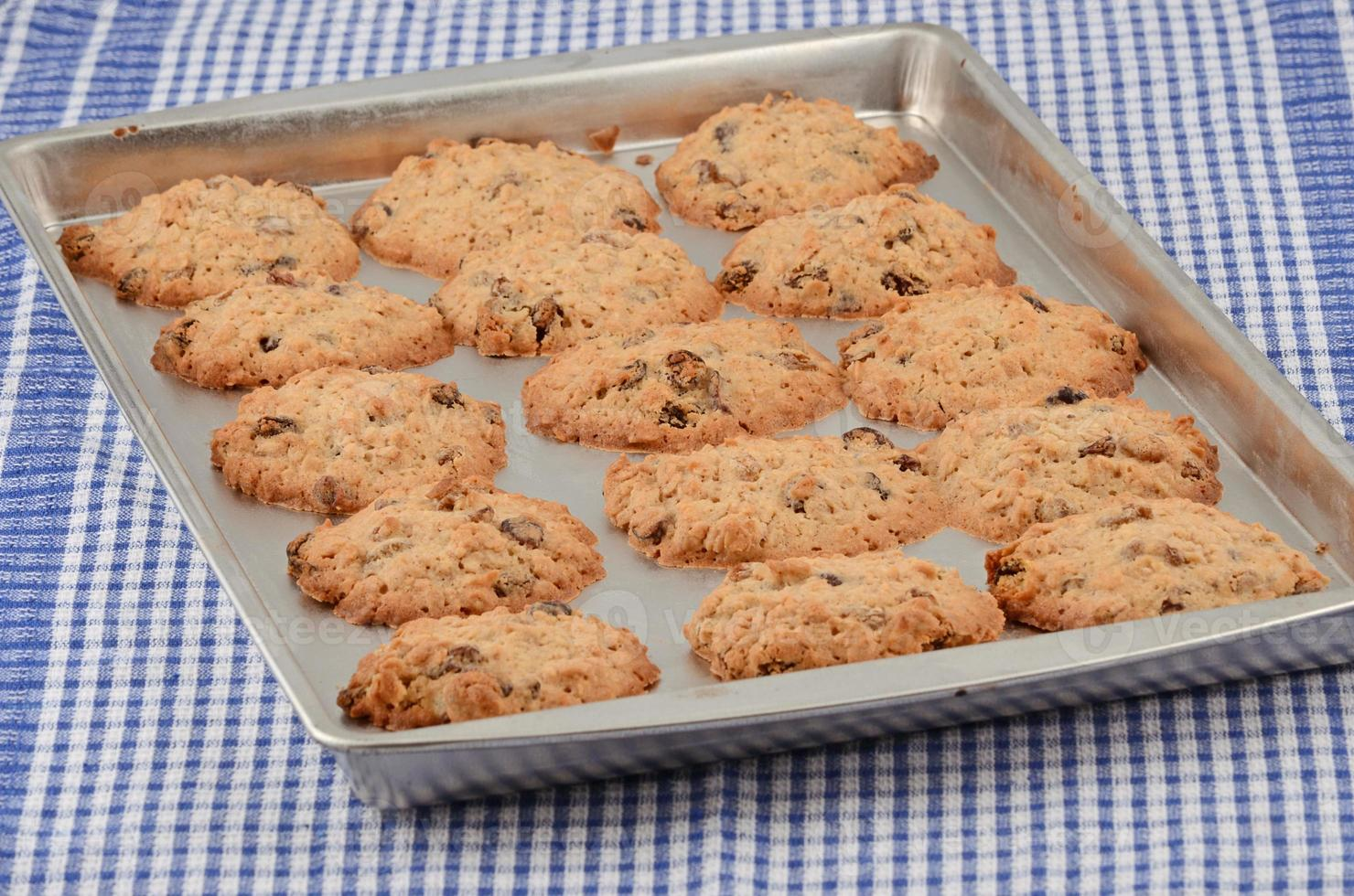 Hot baked cookies photo