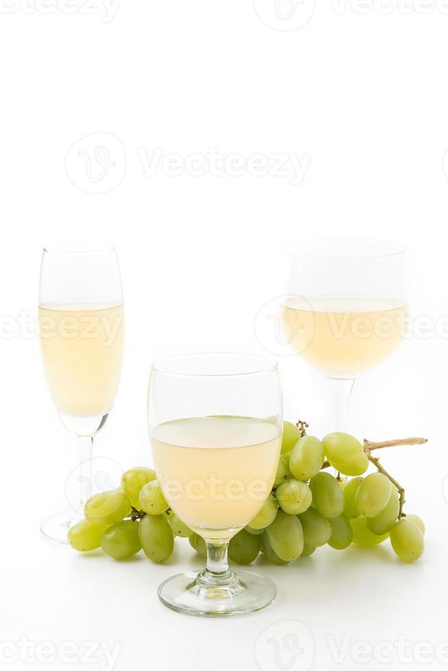jugo de uvas blancas foto