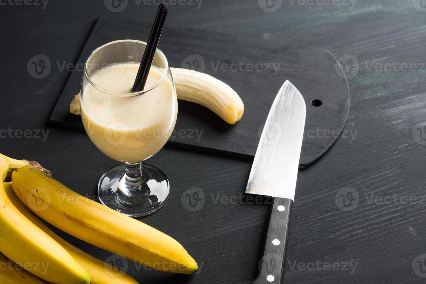 Batido de plátano foto